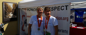 Run For Joe at North Olympic Discovery Marathon supporting the Captain Joseph House Foundation in Port Angeles WA